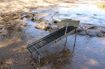 Gold Sluices - GS12 Two Tiered Sluice Box- Sluicy Gold & Prospecting Equipment