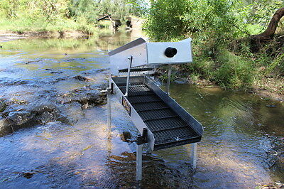 Gold Sluices - GS10 Two Tiered Sluice Box - Sluicy Gold & Prospecting Equipment