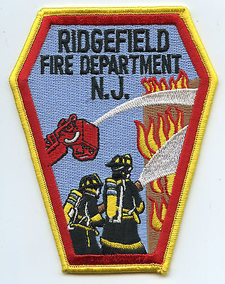 RIDGEFIELD NEW JERSEY NJ very colorful FIRE PATCH