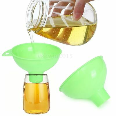 Wide Mouth Large Opening Jam Wine Soup Sauce Pressure Canning Funnel Kitchen Kit