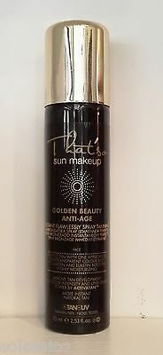THAT'SO SPRAY TAN GOLDEN BEAUTY ANTI-AGE colore clear 75ml.DHA 4%