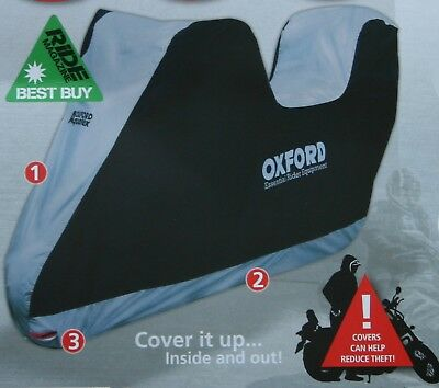Oxford Aquatex Cover With Top Box Outdoor & Indoor Motorbike Scooter XLarge XL