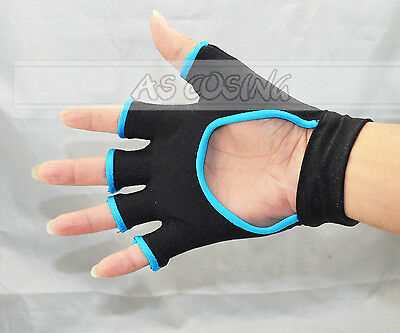 Free Shipping Dramatical Murder DMMd Seragaki Aoba Cosplay Glove(Only one Glove)