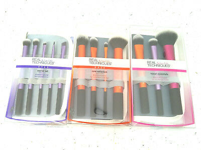 I Brushes Real Techniques Core Collection Eyes Starter Kit Travel Essentials I