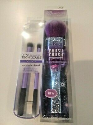 M Brush Set Real Techniques Core Collection Eyes Starter Kit Travel Essentials