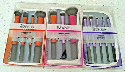 12 Brushes from Real Techniques Core Collection Eyes Starter Travel Essentials 3