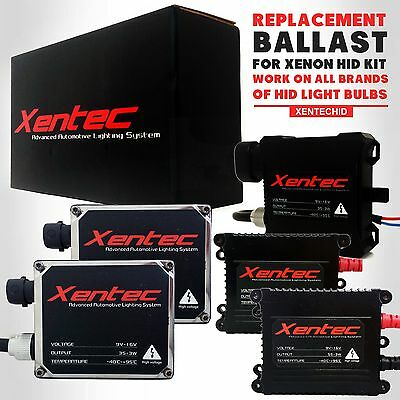 Two Xentec Xenon Lights 35W 55W HID Conversion Kit Replacement Ballasts 60000LM