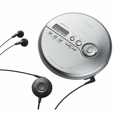 SONY DNF340 WALKMAN PORTABLE CD PLAYER WITH MP3 PLAYBACK & Digital FM Tuner