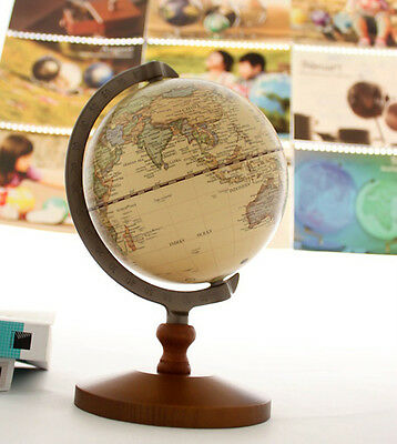 New Work Decor Wedding Educational Model Vintage Reference World Globe On Sale