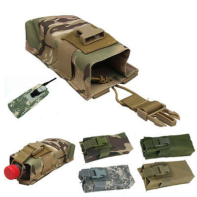 Outdoor Airsoft Tactical Military Molle MBITR Radio Walkie Talkie Belt Pouch Bag