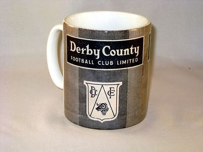 Derby Comté de Football Programme Collectionneurs Grand Neuf MUG