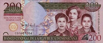 Dominikanische Republik / Dominican Republic 200 Pesos 2013 Pick 185 (1)