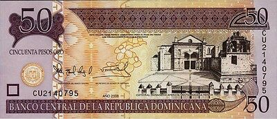Dominikanische Republik / Dominican Republic 50 Pesos Oro 2008 Pick 176b (1)