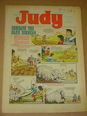 JUDY #421-424 Lot of 4 Feb 3rd-24th 1968 UK Girls Weekly Comic