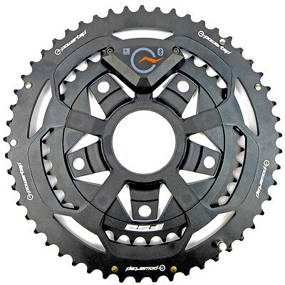 PowerTap C1 Chainring w/Sensor 52/36 Power Meter Ant+ Dual Sided MotionBased NEW