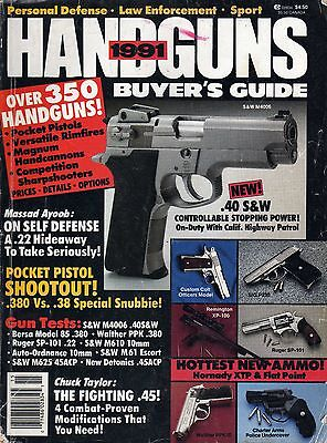 SHOOTING TIMES HANDGUNS Guide 1979 Pistols, Revolvers Review
