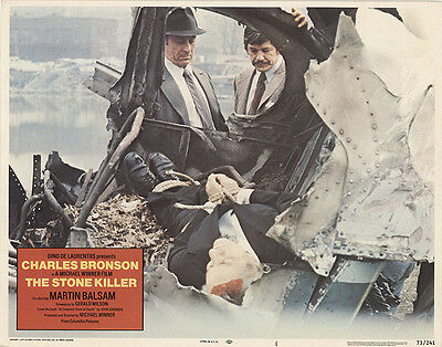 The Stone Killer 1973 Original Movie Poster Action Crime Drama