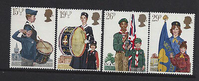Great Britain 1982 Youth Organisations Stamp Set