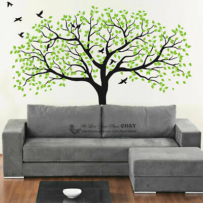 Large Nursery Tree Wall Stickers Vinyl Decal Art Mural Removable Home Decor Gift