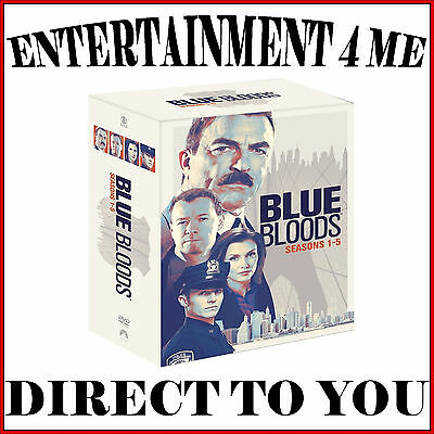 Blue Bloods - Complete Seasons 1 2 3 4 & 5 * Brand New Dvd Boxset***