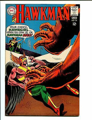 Hawkman #24   9.0/9.2  Nm-  Original Owner!  Nice Pages!  Take A Look