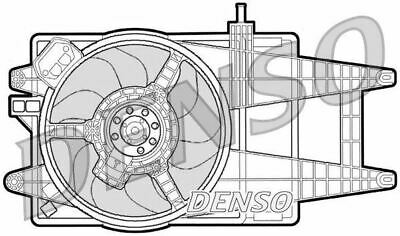 DER09042 Denso Engine Cooling Fan