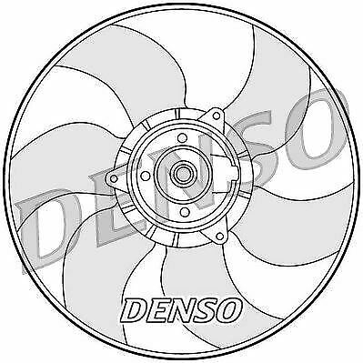 DER23001 Denso Engine Cooling Fan