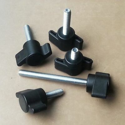 M6 Male Wing/ Wingnut Knobs / Thread length : 10/17/27/37/47/57 mm
