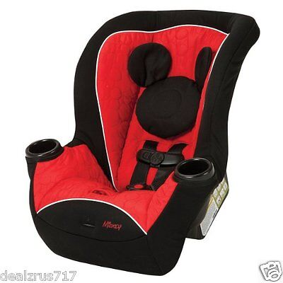 Convertible Car Seat Baby Infant Toddler Carrier Mickey Boy Boys Disney New