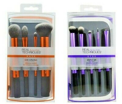 Real Techniques Combo 2 sets makeup brushes The Core Collection Eyes Starter Kit