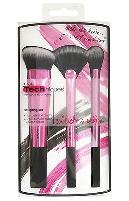 Real Techniques Sculpting Set Collector's Edition Makeup Brushes FACTORY SECONDS