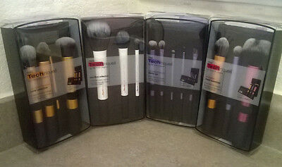 4 RETAIL BOXES Real Techniques Core Collection Eyes Starter Kit Travel Duo-Fiber