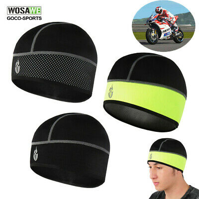 New Skull Cap Thermal Cycling Beanie Running Helmet Liner Outdoor Hats Warmer