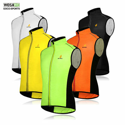 Mens Tour de France Cycling Vest Wind Vest Windvest Sleeveless Sport Clothing