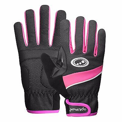 Optimum Ladies Full Finger Insulated Autumn/Winter Cycling Bike Bicycle Glove