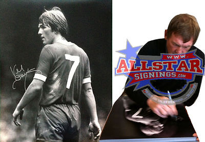 "KENNY DALGLISH SIGNED 16""x20"" LIVERPOOL PHOTOGRAPH PROOF EXCLUSIVE TO ALLSTARS"