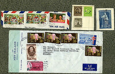 Selection of Stamps ~ PHILIPPINES ~ ASIA United States America Early #1