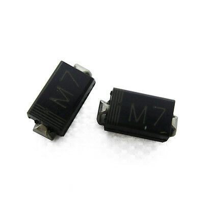 100PCS Diode DO-214(SMD) 1N4007 LL4007 M7 NEW
