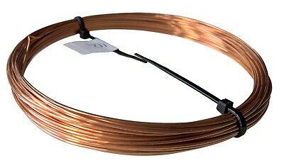 Unplated Copper Round HALF-HARD Wire  Jewelry Making / Wire Craft