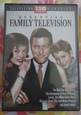 Essential Family Television (DVD, 2008, 12-Disc Set)Brand New