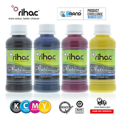 Rihac Pigment Inks for Canon Maxify Printers using PGI1600 & PGI2600 Cartridges