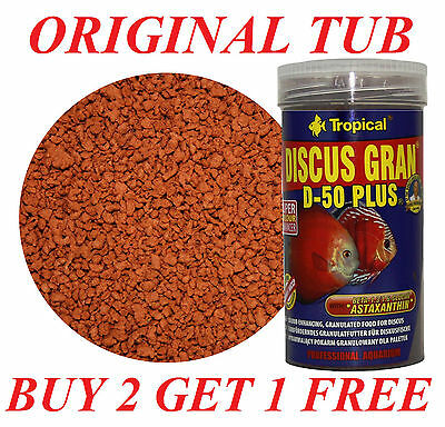 Discus Granulated High-Protein Complete Food For All Discus Daily Feeding 250Ml!