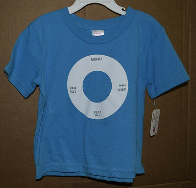 IPOD Eat Play Nap Infant/Toddler Shirt Little Teez New with Tags