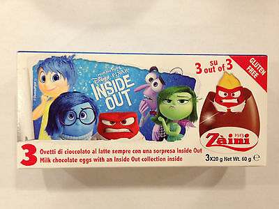 2 Boxes (6 Eggs) Inside Out Chocolate Surprise Inside, Free Gift