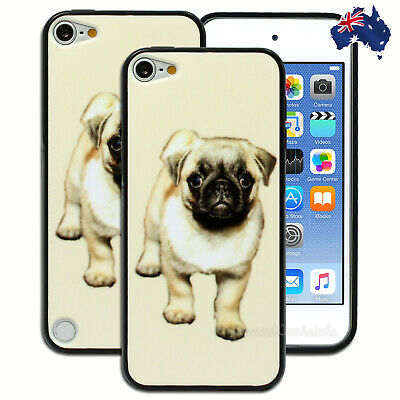 Pug Puppy Dog Hard Case for Apple iPod Touch 5 5th 6 6th Gen itouch Cover