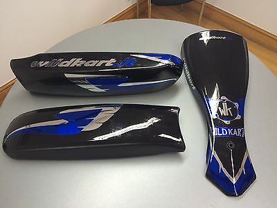 Wildkart Fp7 Nassau Panel & Duo Side Pods, Bodywork Set With Graphic Kit
