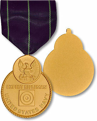 Naval Expert Rifle Medal