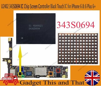 343S0694 iPhone 6 iPhone 6 Plus Touch  Digitizer Controller Chip IC U2402