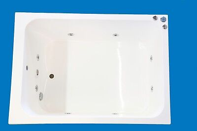 8 Jet Oriental Japanese Whirlpool Bath Tub | 1200 x 1000 | Baths | Jacuzzi Spa