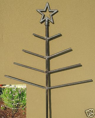 Christmas Tree Star Garden Decoration Noel Iron Metal Straight Branches Noel Usa • CAD $47.23